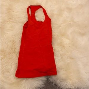 Red lulu lemon tank